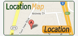 Location Map - Caterpillar Road Storage